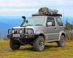 Commercial Deluxe Bull Bar to suit Jimny 2012-1/2019