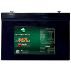 Enerdrive 100Ah/12v LiFePO4 Battery eLIT