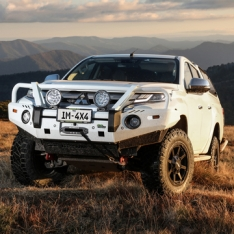 Commercial Deluxe Bull Bar to suit Mitsubishi Triton MR 11/2018+