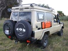 Alucab Roof Conversion Kit Land Cruiser78 Beige