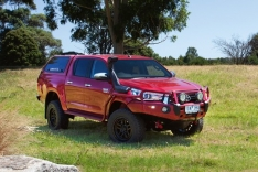 Commercial Deluxe Bull Bar to Suit Toyota Hilux 5/2018+
