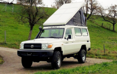 Alucab Roof Conversion Kit Land Cruiser 78 White