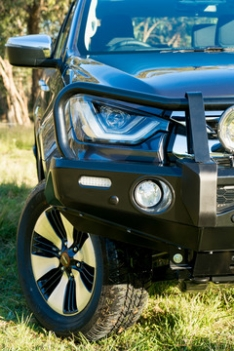Deluxe Commercial Bull Bar to suit Isuzu D-Max 8/2019 onwards