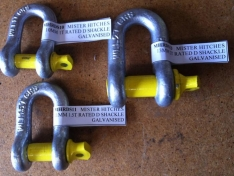 D-Shackle 13mm x 16mm 2T Stamped and Rated – Mister Hitches