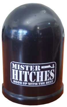 Tow Ball Cover Black W/MH Logo 50mmx50mm – Mister Hitches
