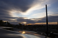 Heavy Duty Fibreglass Raydome Antenna – BLACK (3.0 dBi Gain)