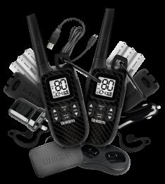 UHF 2 Watt UHF Handheld Adventure 2-Way Radio – Deluxe Pack